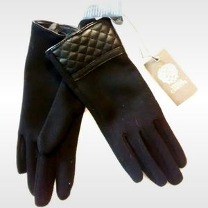 Vince Camuto Quilt Stitch Gloves Lined